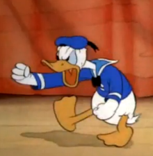 Which user likes Donald Duck the most?