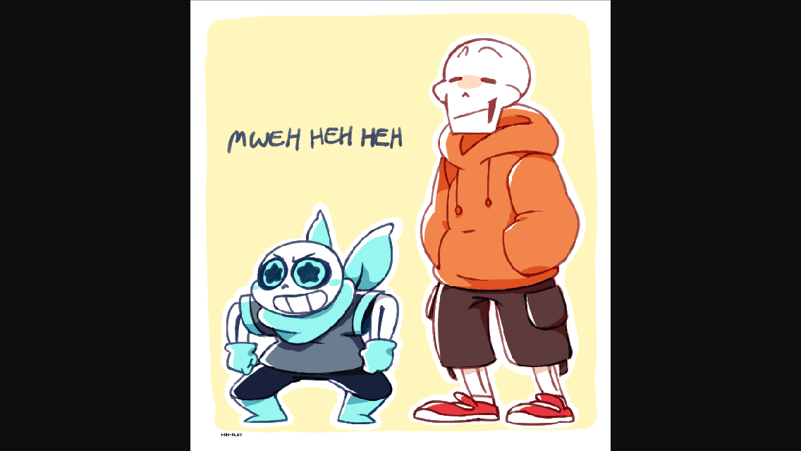 Me:Blueberry come ask a question!blueberry sans:OK! Blueberry sans:Do you like puzzles?