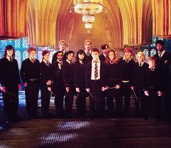 what was the name of the bar where hermione had asked fellow students to come along to arrange their own defense group in order to learn to fight against Voldemort now he had returned?