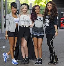 "Which four of these people are member of the girl band ""Little Mix""?"
