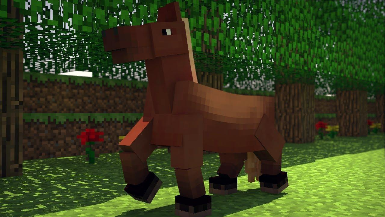 NEXT! Creepers are weird, so lets move on! I think you can agree. Anyway. this is just a simple true or false question: A horse can be equipped with a chest. (And don't eenie meenie miney mo it...like my friend did.)