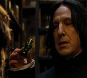 You are in Potions class, and Snape calls on you. You: