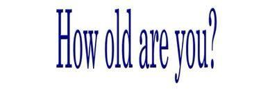 How old r u?