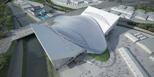 How many events will the Aquatics centre hold throughout both the Paralympics and the Olympics.