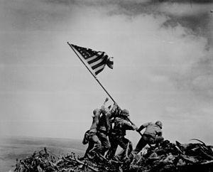 What was the name of the only non-Marine, to raise the second flag at Iwo Jima?