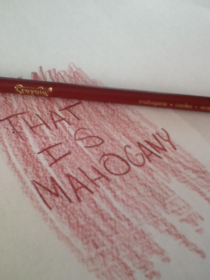 What are your opinions on cruelty to mahogany?