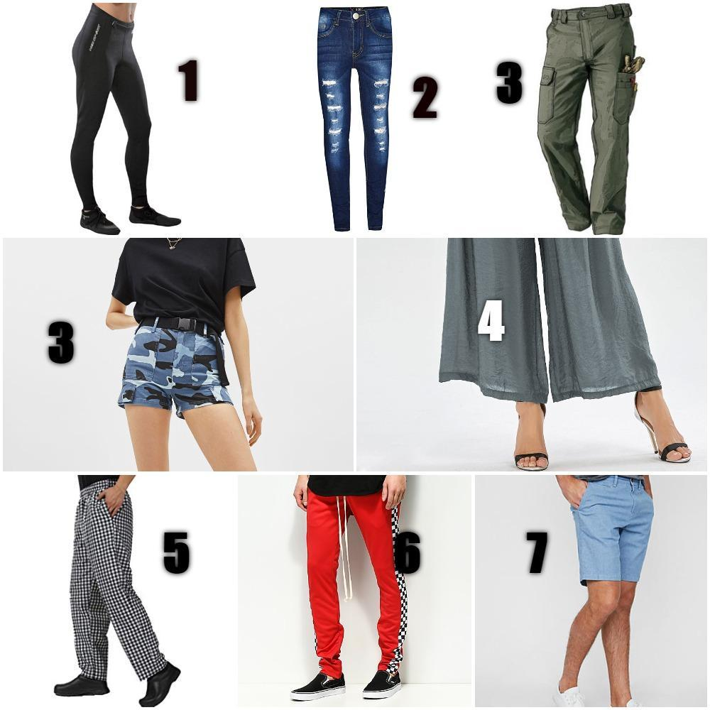 choose  p@nts/ tr0uS3rs (smh q team) (small 3rror : just take the shorts as 4 and count from there that is the last one's 8)