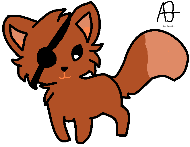 Can fate trust you? My cute chibi Foxy The Pirate Fox trusts it.