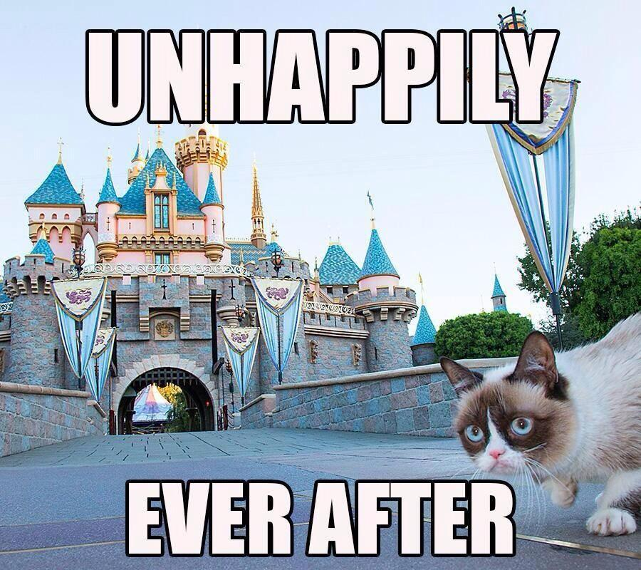 What do you do if you have an unhappily ever after?