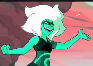 In what episode does this gem appear, what is her name, and who forms her?