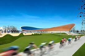 In the 2012 Olympics which events were held in the velodrome?