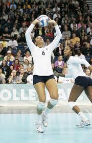 Can a setter set the ball from the back row?