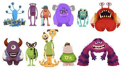 what is your favourite monster in the pic…..