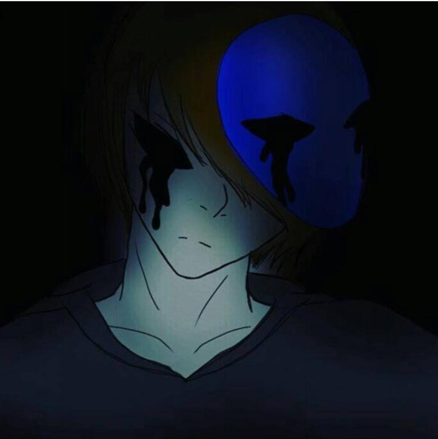 Alright it's your turn e,j, Eyeless jack: why do you sound so unhappy.. Because I HATE YOU!! NOW JUST SAY A QUE- Eyeless jack:*puts tape over her mouth* favorite food?