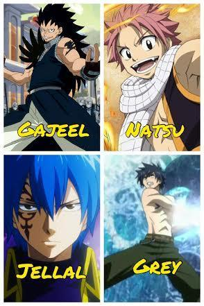 Who's your favorite male Fairy Tail character?