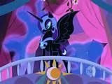 What is Nightmare Moon's former name before I became strong and powerful? Capitol letters for fronts of words please!