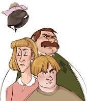 In the Dursley family there are two female Dursley's mentioned. What are their names?