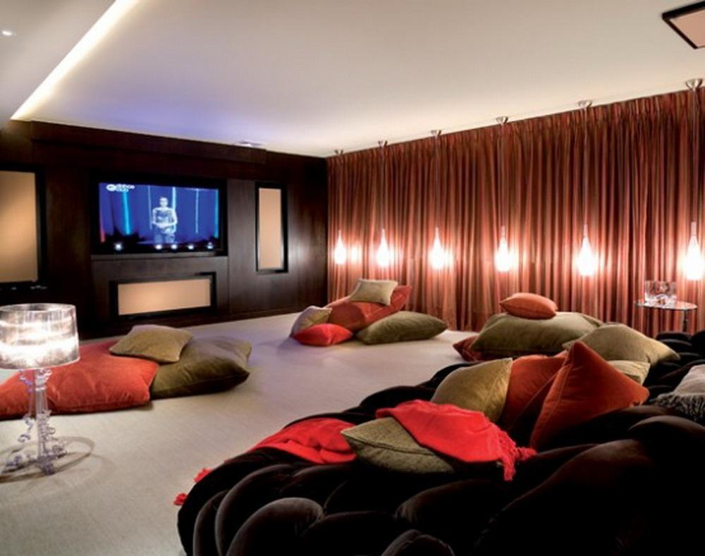 We decide to watch a movie. This is my lounge room. What do you do?