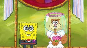 True or false: SpongeBob's voice actor is married to the voice actor of Sandy.