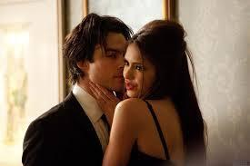 When Damon and Katherine were getting it on...all of thee sudden it stopped and she broke his heart.  What did she say to break his heart?