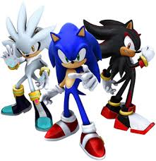 """ Don't worry, I'm not going to do anything to them, I already did the experiment on YOU!"" He cackles evilly. BOOOM! ""Let her go Eggman!"" You turn your head and see Sonic, Shadow, and Silver standing in an whole in the wall."
