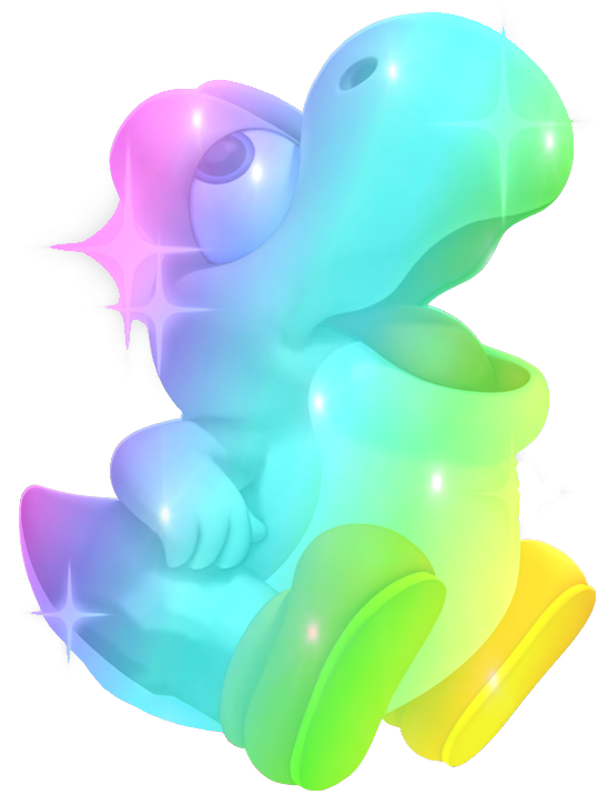 how to draw blue baby yoshi