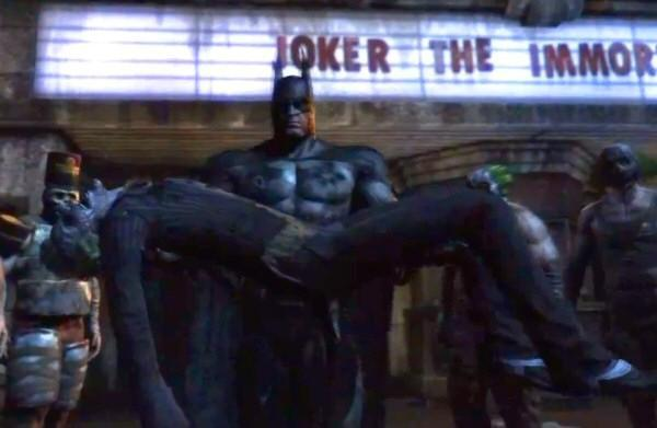 how did joker die in arkham city
