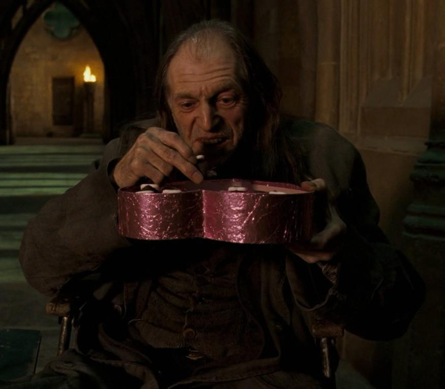 Who did Filch have a bit of a crush on in the Order of the Phoenix?