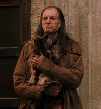 What year was Filch's cat petrified?