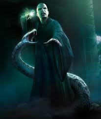 What is the name of Voldemort's snake?