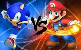 Sonic or Mario