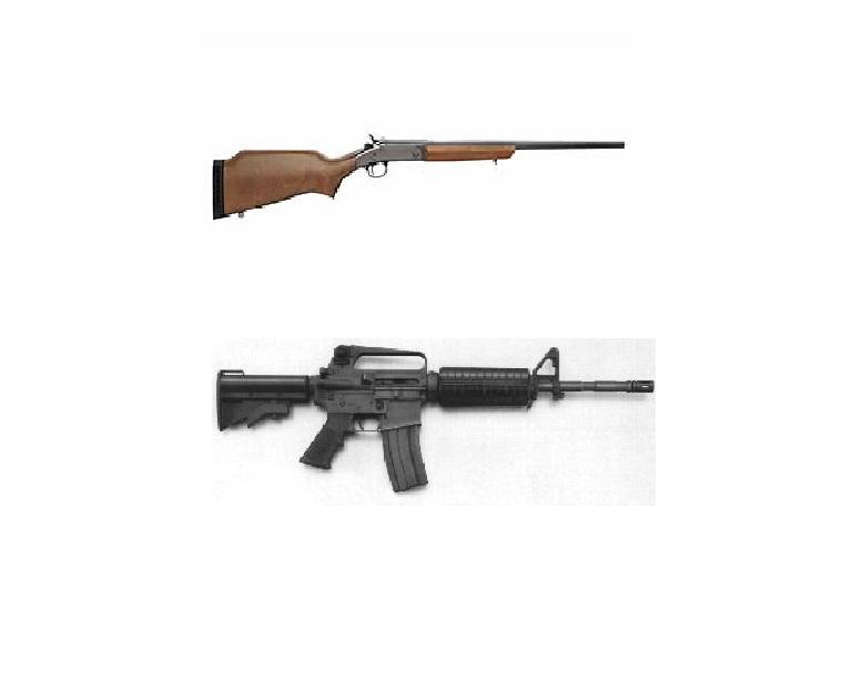 Which of these weapons is classified as an assault weapon by the Violent Crime Control and Law Enforcement Act of 1994?