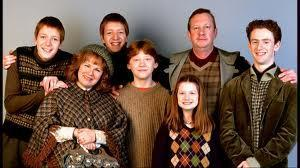 8) What are the first names of Ron Weasley's parents?