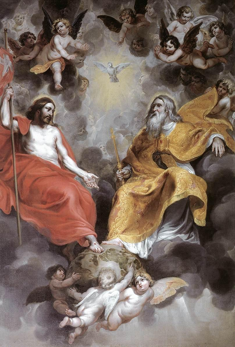 In The Mystery of the Blessed Trinity