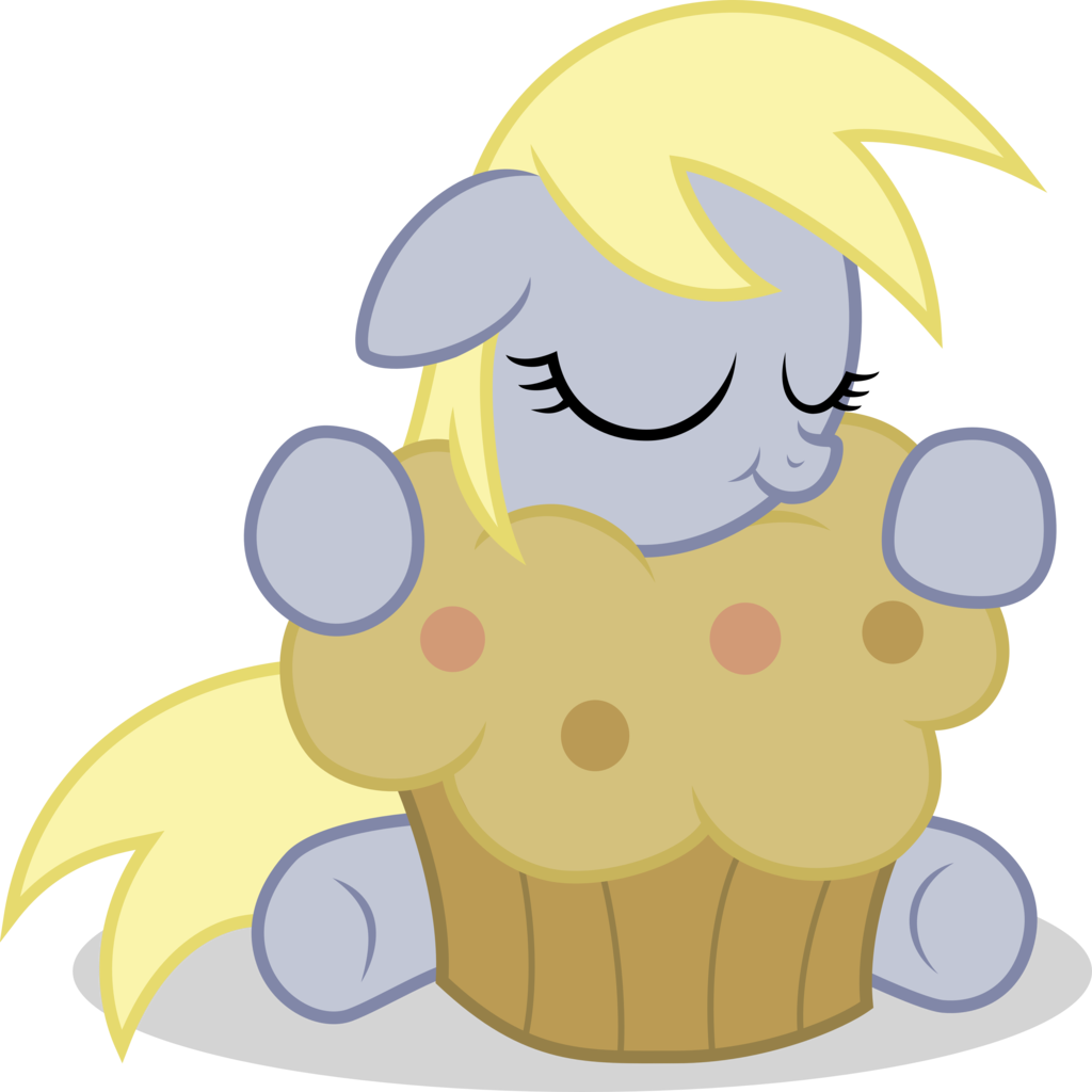 What is the name of this pony who loves muffins? (Real name)