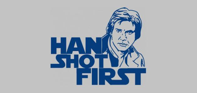 """Han Shot First"" refers to a controversial scene change in which movie?"