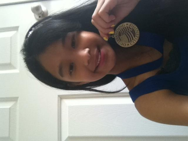 You like my medal?