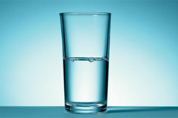 Is this glass half full or half empty?