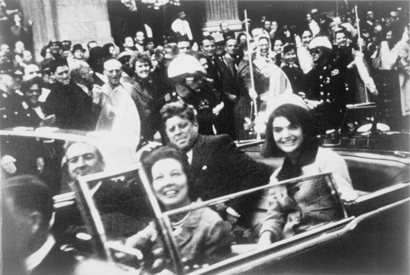 Who was apprehended and accused of Kennedy's assassination?