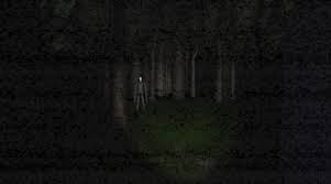 Slender is about to use the screen shaking powers thing as if he was really close to you. Where you run to escape that sound?