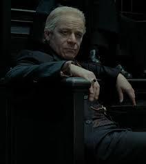 WHICH WELL KNOWN BRITISH ACTOR PLAYED YAXLEY WHO FIRST APPEARED IN HARRY POTTER AND THE DEATHLY HALLOWS PART 1  PLAYING A DEATH EATER WHO HAS BEEN PLACED AS AN EMPLOYEE ON THE MUGGLEBORN REGISTRATION COMMISSION TO FIND OUT HOW ALL MUGGLEBORNS HAD GOT MAGIC AND THEN TO PLACE THEM IN AZKABAN?