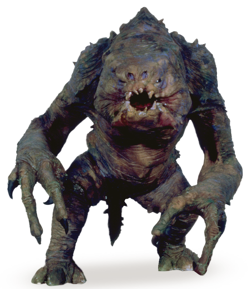 Episode 6: What was the name of the creature in Jaba the Hutt's dungeon?