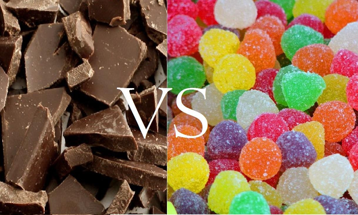 Chocolate or candy?
