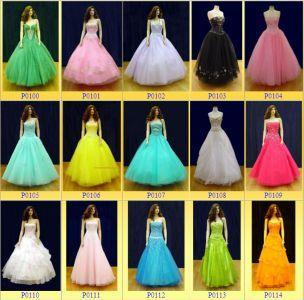 What colour would you like your prom dress to be?