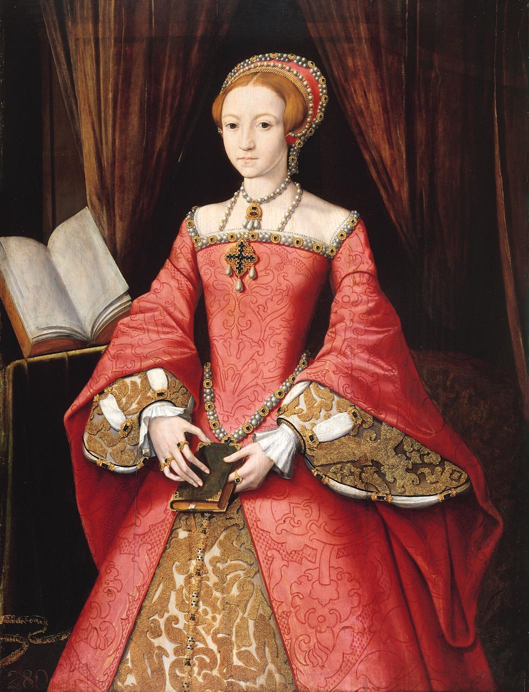 What did Elizabethan women do to follow Elizabeth I in terms of fashion?