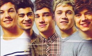 What is the name of the band that has Harry Styles. Louis Tomlinson, Zayn Malik, Niall Horan and Liam Payne as the members?