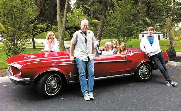 Do you consider your Mustang a part of your family?