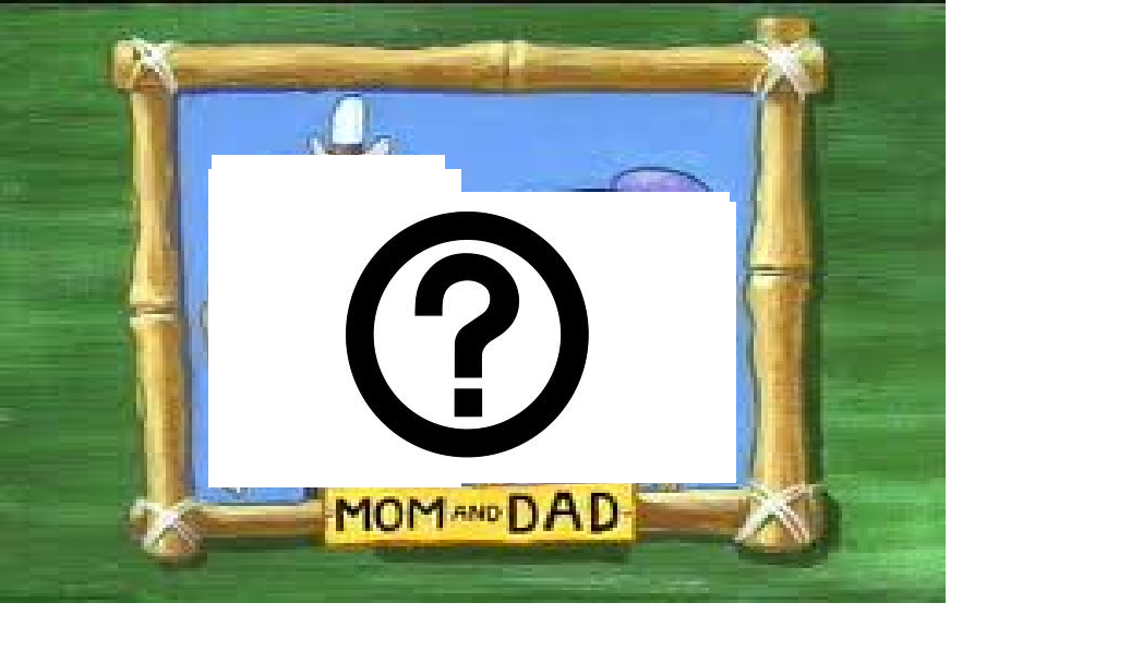 What shapes are Sponge Bob's mum and dad??