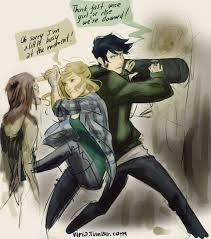 Why did Percabeth fall into Tartarus?