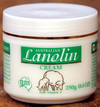What is lanolin used in?